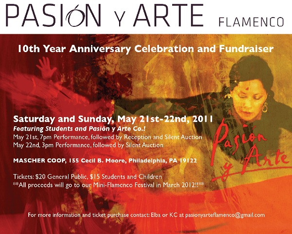 10th Year Anniversary Pasion y Arte Flamenco