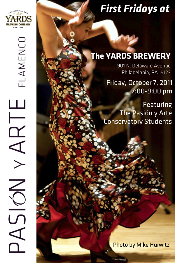 First Friday in October: Pasion y Arte Conservatory at Yard's Brewery