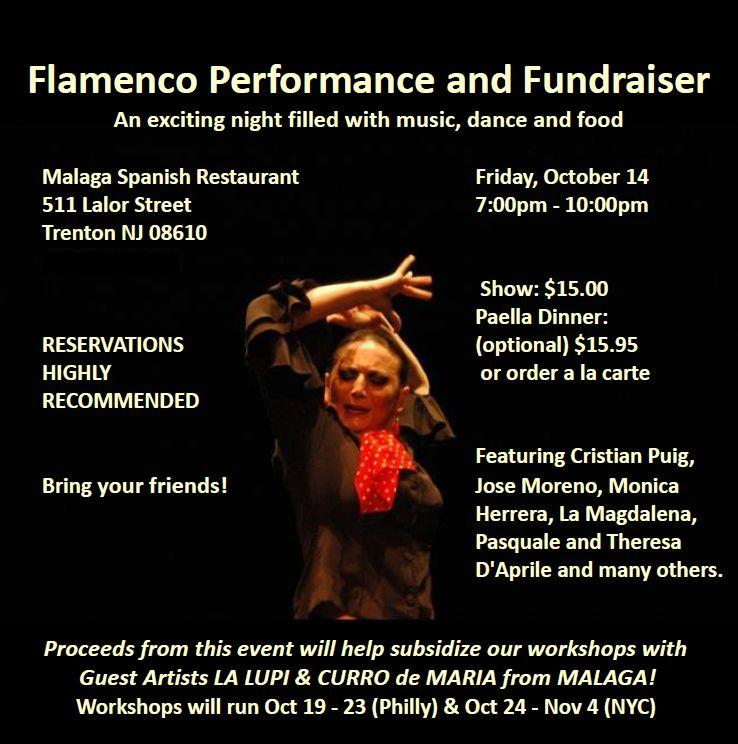 Flamenco Performance and Fundraiser