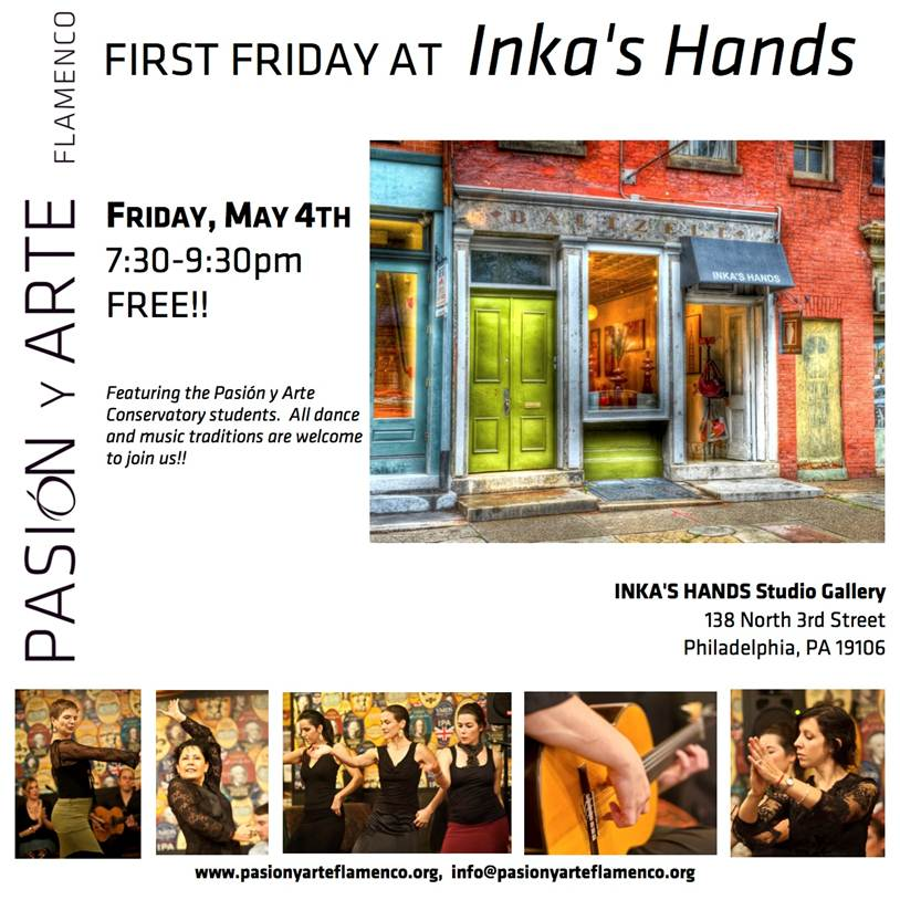 PyA's First Friday at Inka's Hands