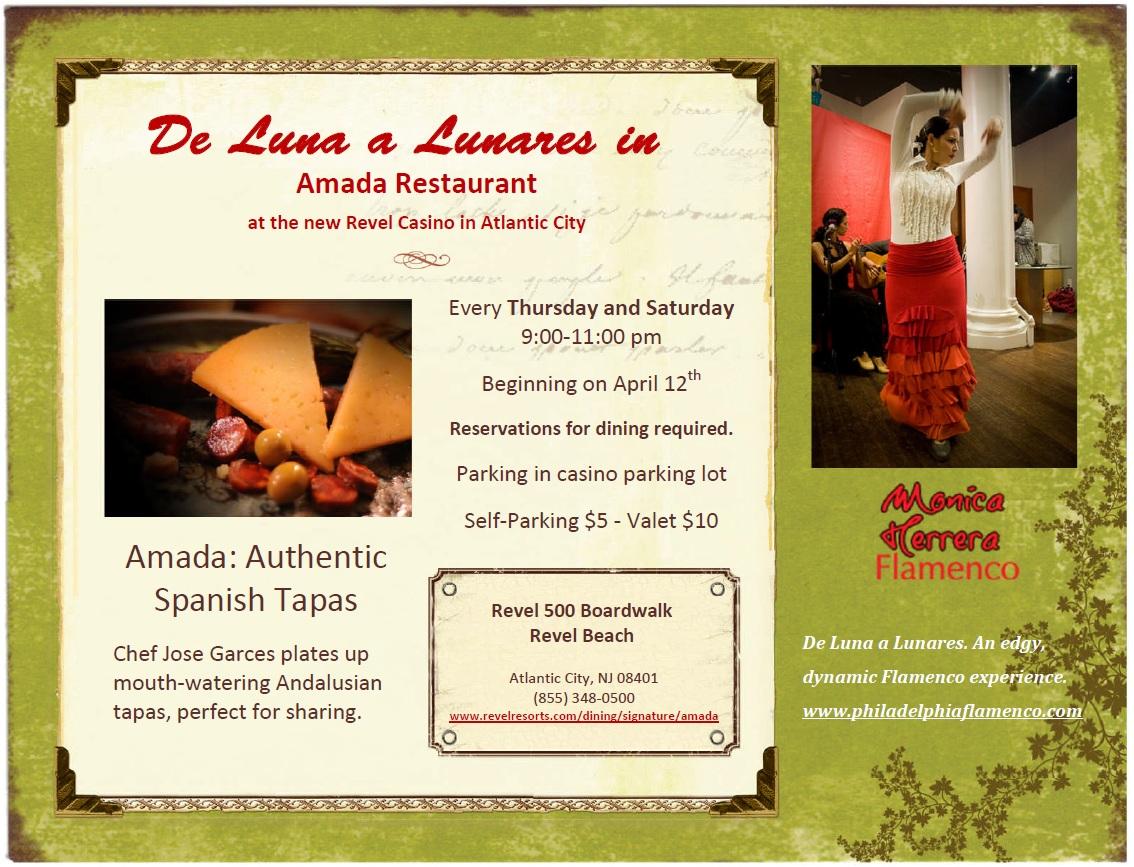De Luna a Lunares in Amada Restaurant