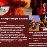 You're invited THIS FRIDAY to first friday juerga!