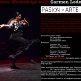 Flamenco workshop with Carmen Ledesma!