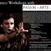 LAST CHANCE to sign-up for flamenco workshops with Noelia Sabarea, direct from Spain!
