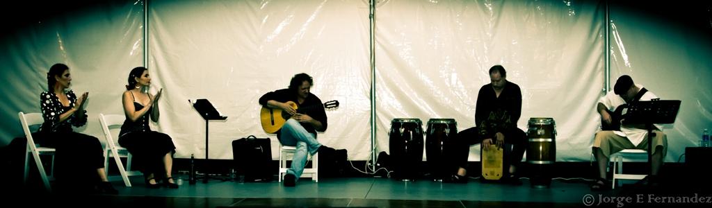 Tres Compadres with Flamenco dancer Monica Herrera
