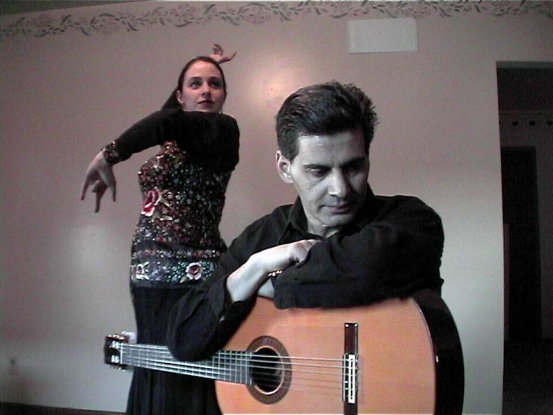 Flamenco Guitar and Dance Workshop with Pat and Teresa D'Aprile